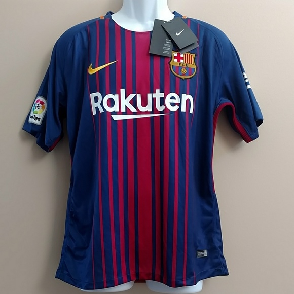 0d580a088ee Nike Shirts | Nwt Fcb Barcelona Messi 2017 Soccer Jersey | Poshmark